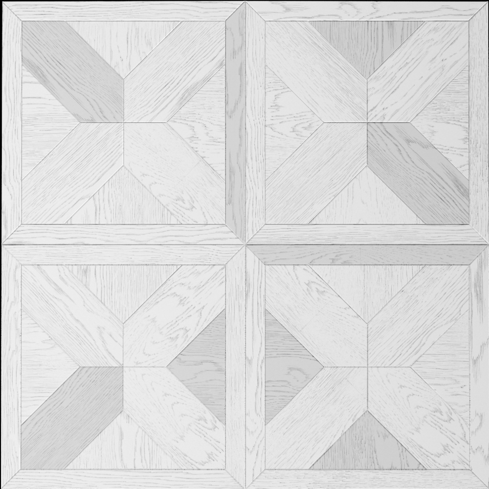 Дуб патина Белый серебро (4)